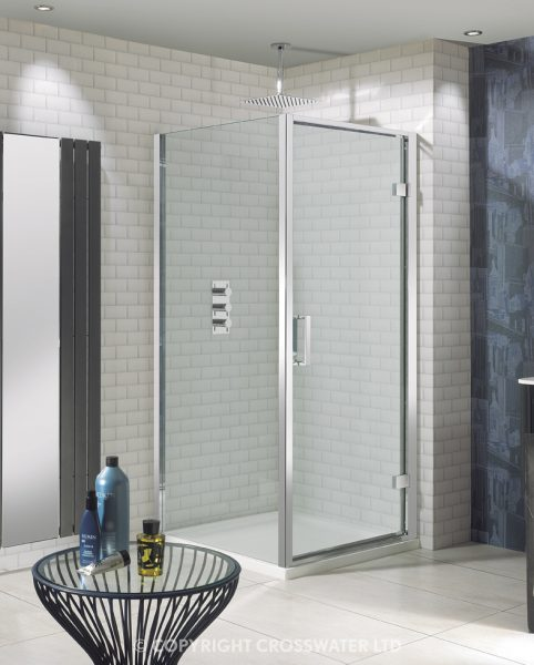 Simpsons Elite Hinged 8mm ShowerDoor 800mm LHDSC0800