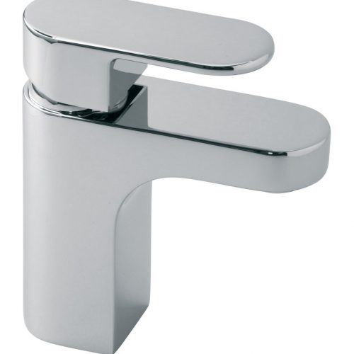 Vado Life mono basin mixer with No waste LIF-100/SB-C/P