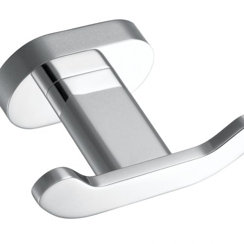 Vado Life modern style look double robe hook LIF-186-C/P