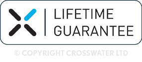 Crosswater Elite Offest Door Quadrant 1200 x 800mm LQSSC12x8
