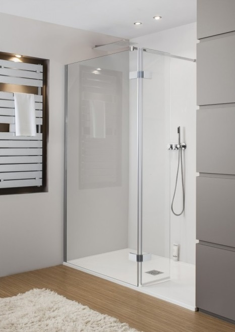 Simpsons Elite Walk in Shower Door Easy Access 1250mm LWESC1250