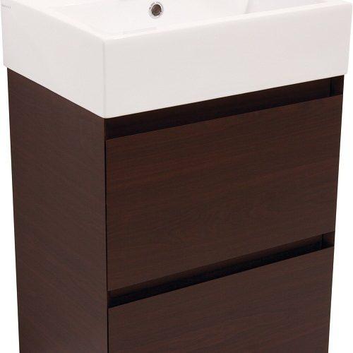 Saneux MATTEO 2 drawer wenge colour unit ONLY M0103.2