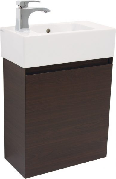 Saneux MATTEO Handeless wenge 1 door unit ONLY M0603.1