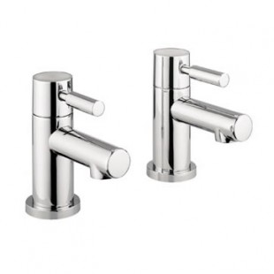 MBAQ140N Adora Aqua Pair of Modern Basin Pillar Taps
