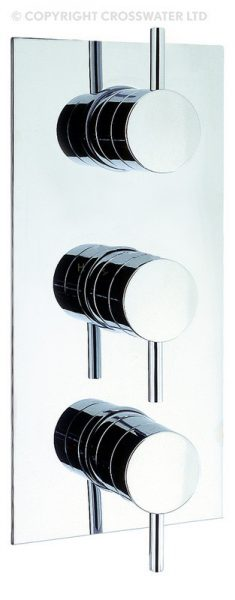 Adora Fusion Thermostatic 3 Control Shower Valve MBFU2000RC