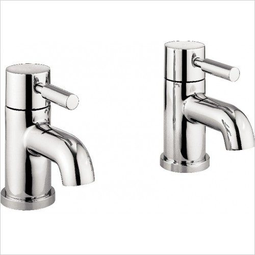 MBFU340N Adora Fusion Pair of Bath Pillar taps