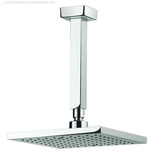 Adora Planet 200mm Shower Head and Ceiling Arm MBPSAF20