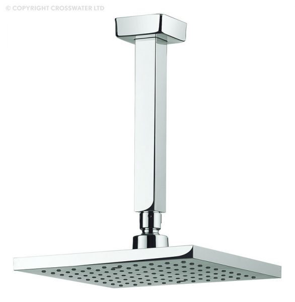 Adora Planet 250mm Shower Head and Ceiling Arm MBPSAF25