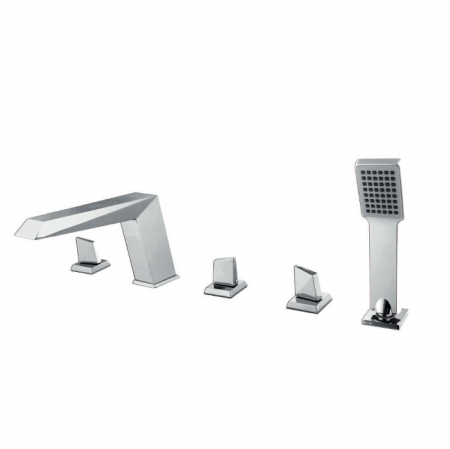 Saneux Mecury 5 hole bath shower mixer set ME014