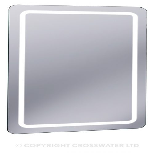 Crosswater Linea Bathroom LED Lit Mirror 1000 x 600mm MF10060A
