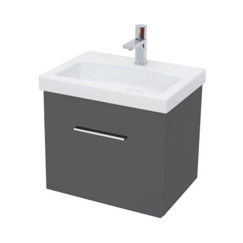 Saneux Monty Grey Gloss Colour 50cm Unit ONLY MF8505