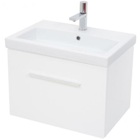 Saneux MONTY Wall Hung White Gloss 90cm Unit ONLY MF8801