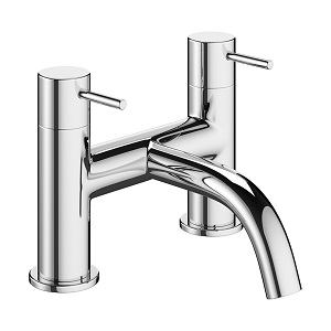 Crosswater Mike Pro Chrome Bath Filler Deck Mounted PRO322DC