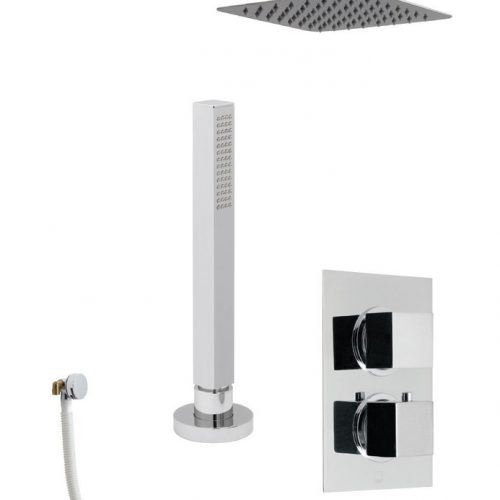 Vado Mix 3 Outlet Square Shower Valve Package MIX-1733-C/P