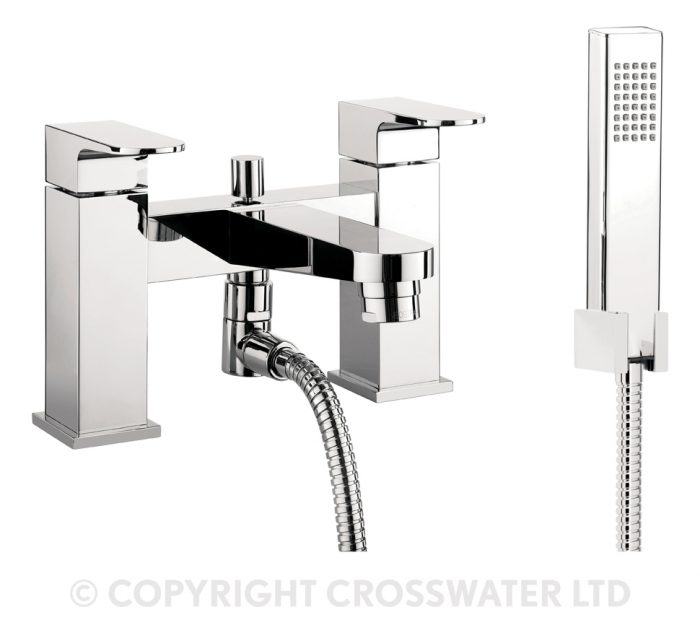 Crosswater Modest Bath Shower Mixer With Kit MO422DC