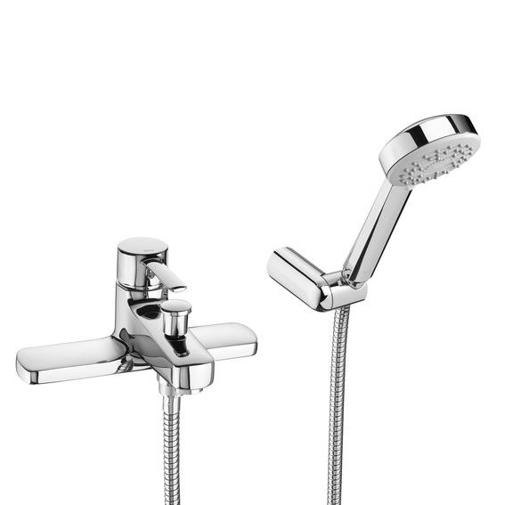 Roca Targa Deck Mounted Bath Shower Mixer 120.TADMBSM