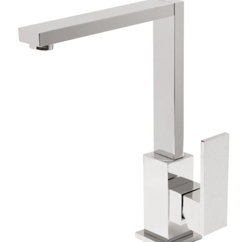 Vado Notion square kitchen sink mixer tap NOT-150S-C/P