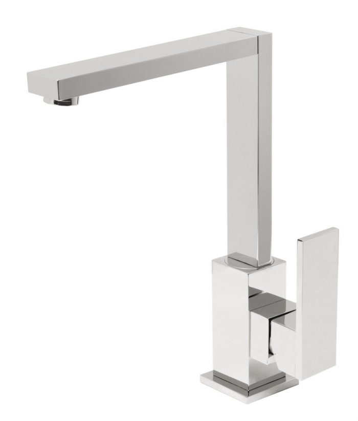Vado Notion square kitchen sink mixer tap NOT-150S-C/P