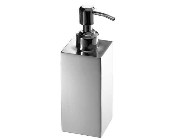Gedy Nemesia Free Standing Soap Dispenser Chrome NE81-13-0