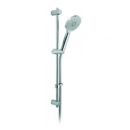 Vado Nebula round multi-function slide rail shower kit