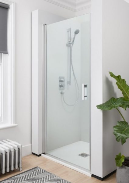 Crosswater CLICK 900mm Hinged Shower Door NHDSC0900