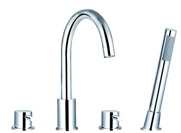 Saneux Pascale Four Hole Bath Set PA013