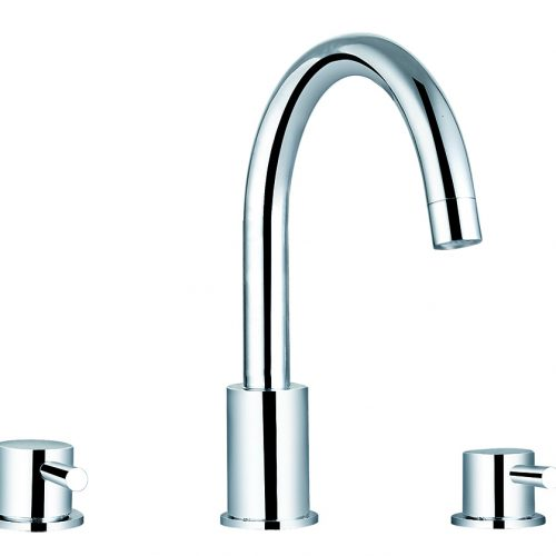 Saneux Pascale Three Hole Bath Filler Set PA014