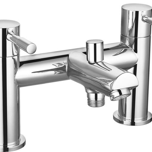 Saneux Pascale Low Pressure Tall Bath Shower Mixer Tap PA015