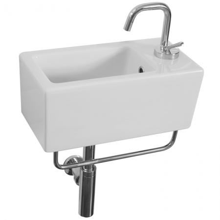 Saneux Quadro Chrome towel rail Only PA20