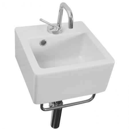 Saneux Quadro Chrome Towel Rail Only PA30