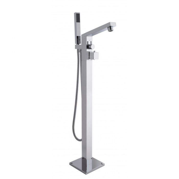Hudson Reed Kubix Freestanding Thermo Bath Shower Mixer