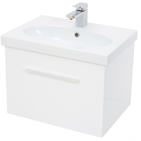 Saneux Panoramic 60cm white unit Only PF3701