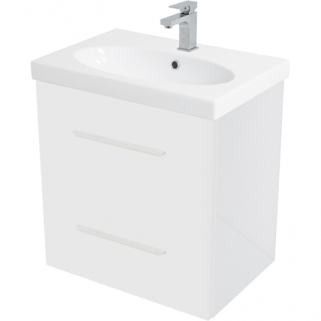 Saneux Panoramic 60cm white unit Only PF3711