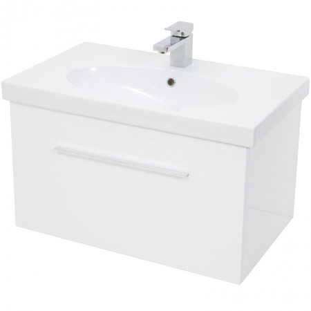 Saneux Panoramic 75cm white unit Only PF4001