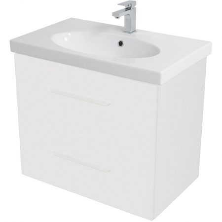 Saneux Panoramic 75cm white unit Only PF4011