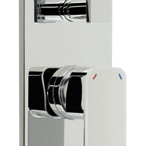 Vado Phase concealed shower valve with div PHA-147A-C/P