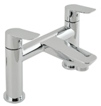 Vado Photon 2 hole bath filler tap deck mntd PHO-137-C/P