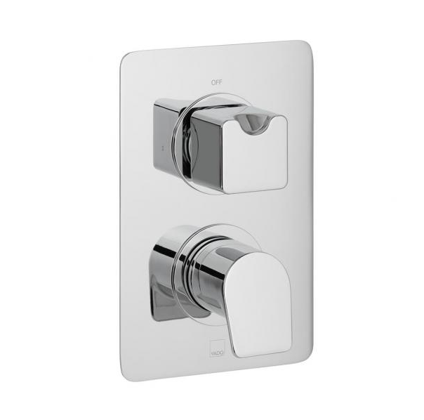 Vado Photon 1 Outlet 2 Handle Concealed Thermostatic Valve-0
