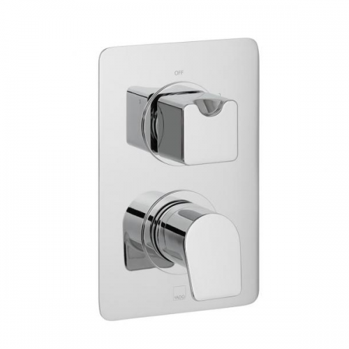 Vado Photon 2 Outlet 2 Handle Concealed Thermo Shower Valve-0