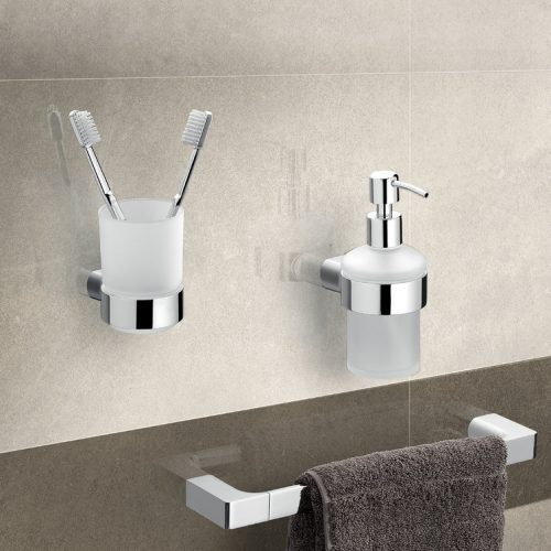 Gedy Pirenei Frosted Glass Bathroom Tumbler PI10-13