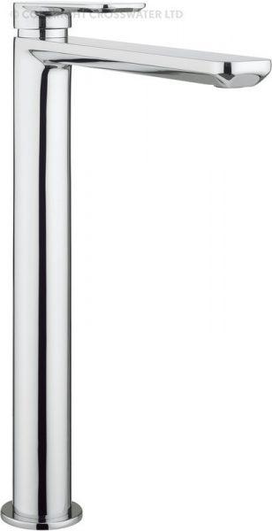 Crosswater Pier Tall Basin Monobloc Mixer Tap PI112DNC