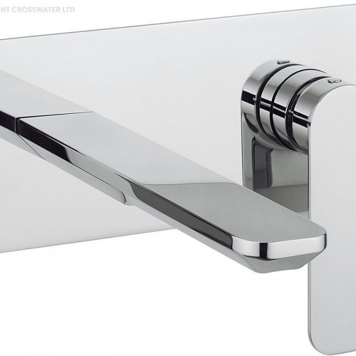 Crosswater Pier Wall Mounted Basin Mixer Tap PI121WNC
