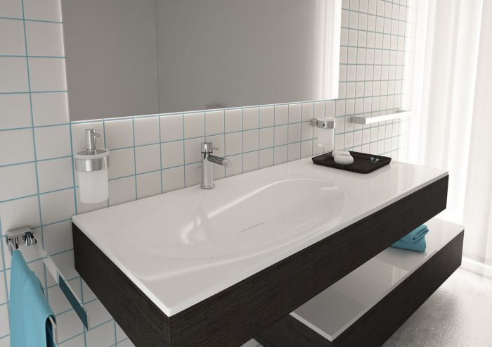 Gedy Pirenei Chrome Swing Towel Rail PI23-13