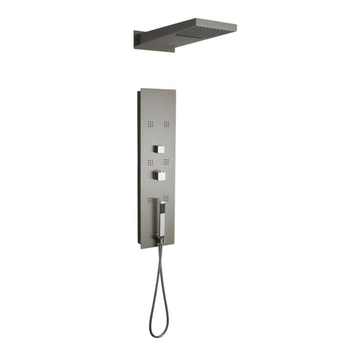Hudson Reed Interval Thermo Shower Panel And Head PIN001