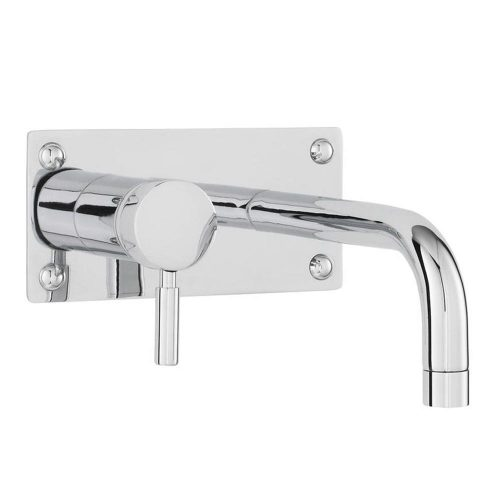 Hudson Reed Round Wall Mtd Basin And Bath Filler PN328