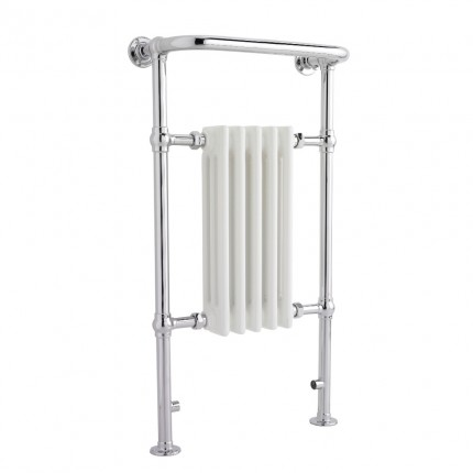 Premier Chrome Brampton Heated Towel Rail HW336