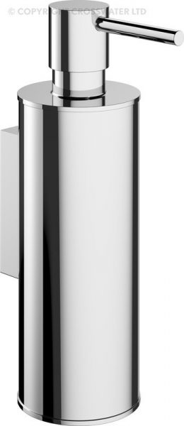 Crosswater Mike Pro Chrome Wall Soap Dispenser PRO011C