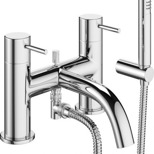 Crosswater Mike Pro Bath Shower Mixer With Kit PRO422DC