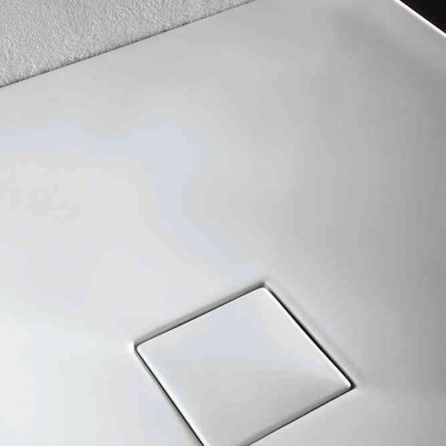 Simpsons 900mm Plus+Ton Quadrant Shower Tray PT0Q9000WM