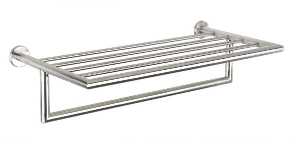 Urban Steel Bathroom Towel Rack In Stainless Pz40